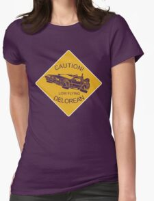 Low Flying Womens Fitted T-Shirt