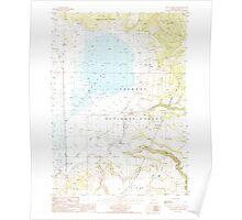 USGS Topo Map Oregon Sycan Marsh East 281730 1988 24000 Poster
