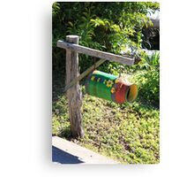 Welcoming Mailbox Canvas Print