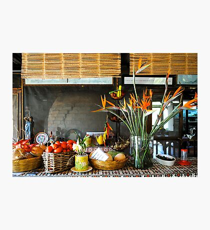 still life with vegetables Photographic Print