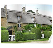 Thatch cottages Poster