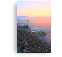Silky Sunset Canvas Print