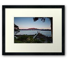 Starters Box, Bellerive, Tasmania Framed Print