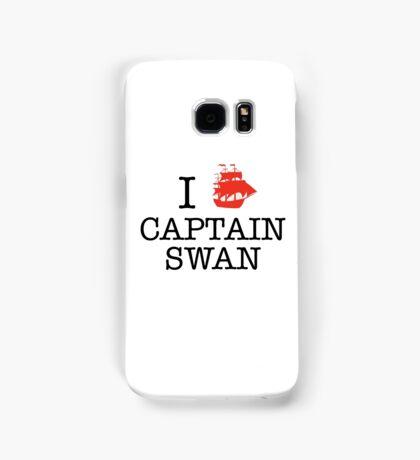 I Ship Captain Swan Samsung Galaxy Case/Skin