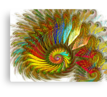 PONG Spiral Canvas Print