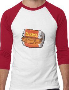 Pixel Nuggies Men's Baseball ¾ T-Shirt