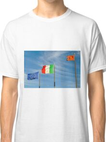 flags in the wind Classic T-Shirt