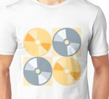 CDs and DVDs Unisex T-Shirt
