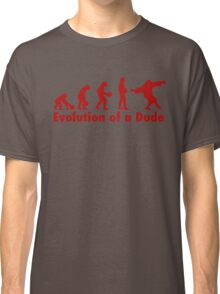 The Dude evolution red Classic T-Shirt