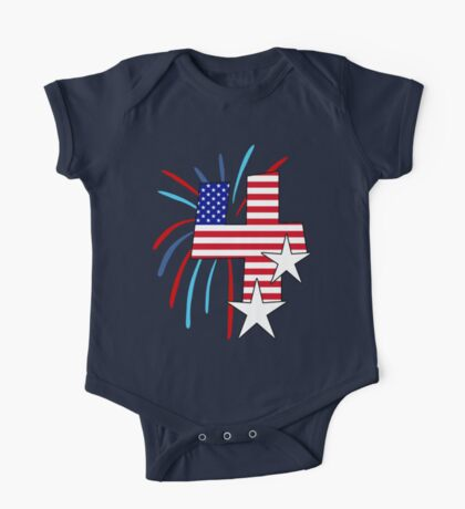 The Big 4 (4th of July tee) One Piece - Short Sleeve