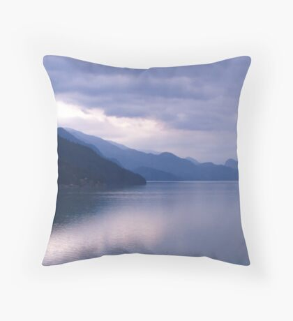 A study in blues Throw Pillow