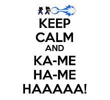 Keep calm - Kame Photographic Print