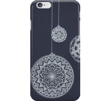 Xmas Baubles iPhone Case/Skin