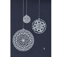 Xmas Baubles Photographic Print