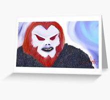 Redbeard Greeting Card