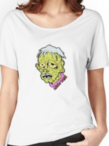 American Sad Zombie Head  Women's Relaxed Fit T-Shirt
