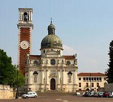 Basilica di S. Maria di Monte Berico by Elena Skvortsova