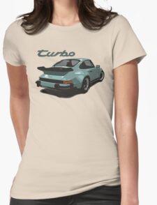 porsche, 911, turbo Womens Fitted T-Shirt