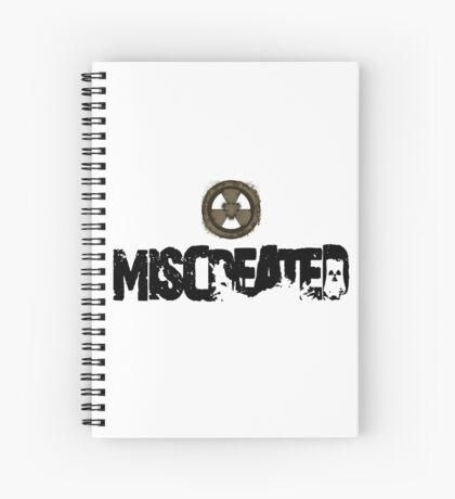 Miscreated Design 1 White (Official) Spiral Notebook
