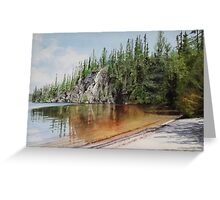 Sox Lake Greeting Card