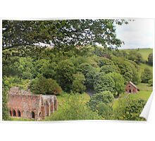amphitheatre Furness Abbey Poster
