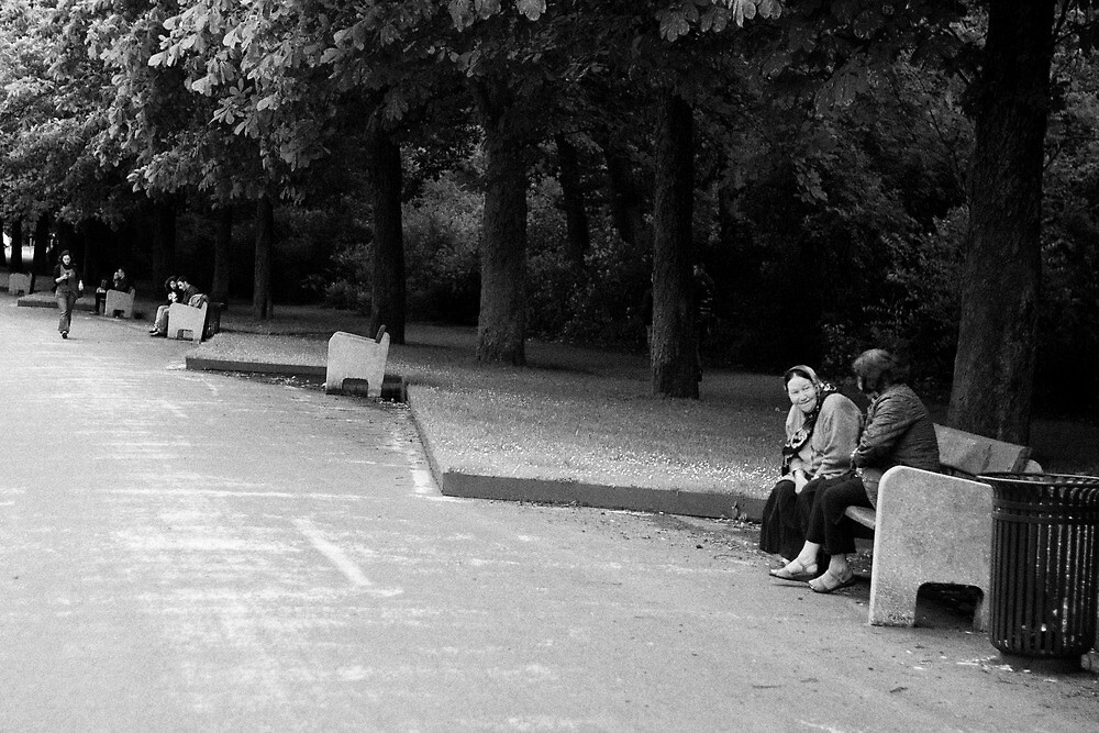 Bench moment by Nayko