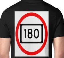 180 mph Unisex T-Shirt