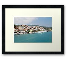 Skiathos Town, Greece Framed Print