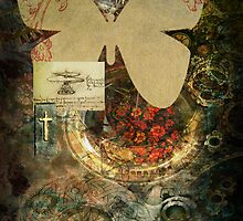 Butterfly Collage by Mary Lyons