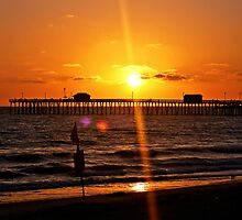 San Clemente Pier Sunset by morganleigh