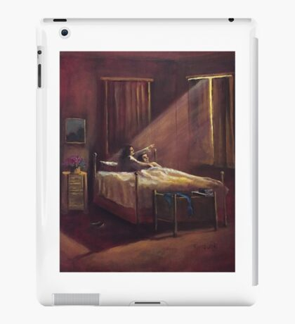 2 a. m. Unknown Light Source iPad Case/Skin