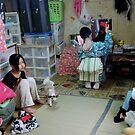 Backstage, OSAKA JAPAN by yoshiaki nagashima