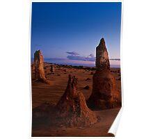 110620 Nambung National Park Pinnacles Sunrise 2 Poster