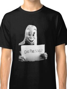 Depressed Smile Classic T-Shirt