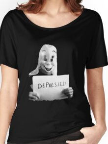Depressed Smile Women's Relaxed Fit T-Shirt