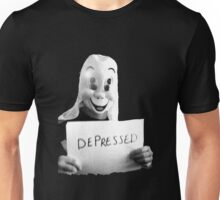 Depressed Smile Unisex T-Shirt
