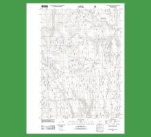 USGS Topo Map Oregon Telephone Butte 20110713 TM One Piece - Short Sleeve