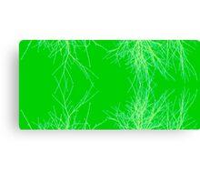 Green Twigs Canvas Print
