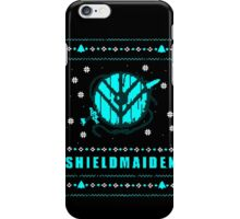 shieldmaiden for the holidays iPhone Case/Skin