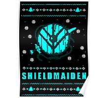 shieldmaiden for the holidays Poster