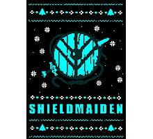 shieldmaiden for the holidays Photographic Print