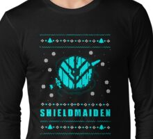 shieldmaiden for the holidays Long Sleeve T-Shirt