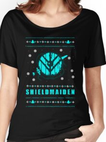 shieldmaiden for the holidays Women's Relaxed Fit T-Shirt