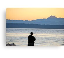 NW Fishing Canvas Print