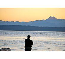 NW Fishing Photographic Print