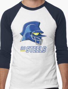 Team Steels Men's Baseball ¾ T-Shirt
