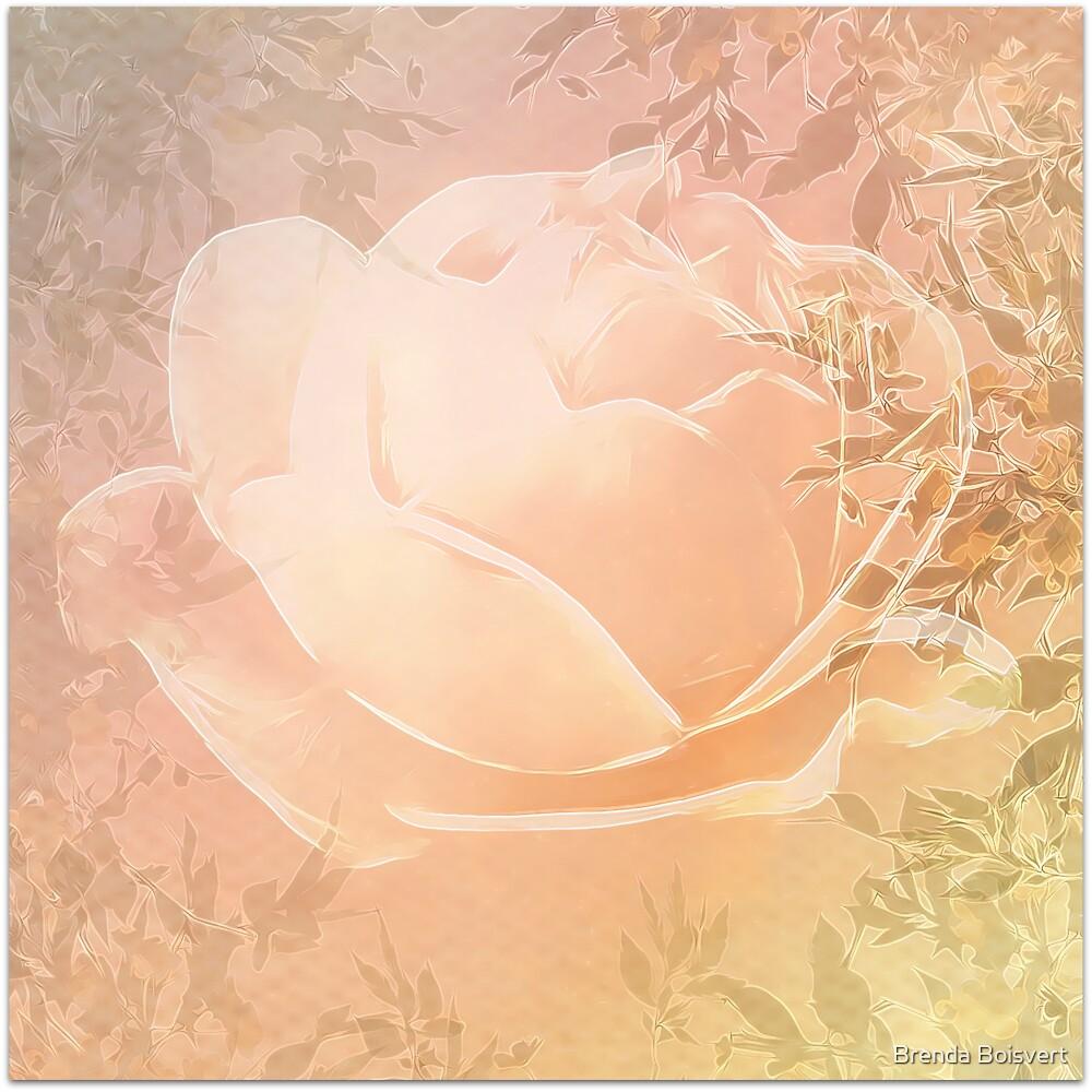 Sleeping Rose by Brenda Boisvert