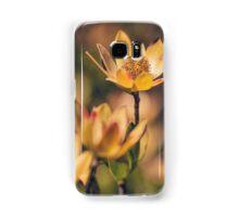 Golden Flowers Samsung Galaxy Case/Skin