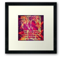 Real Gangsters Framed Print