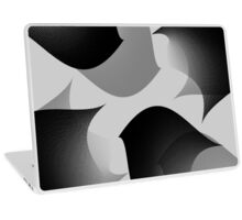 Flowing Abstraction Laptop Skin